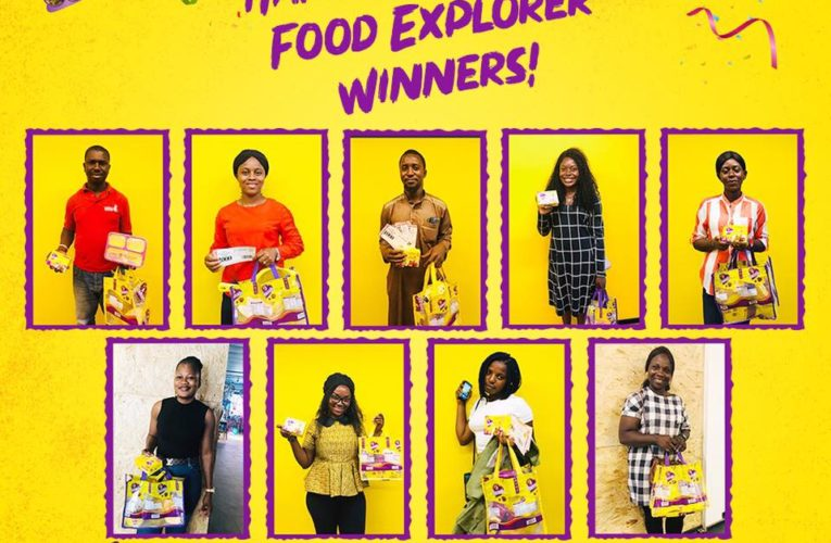 Winners of Mamador Food Explorer Challenge