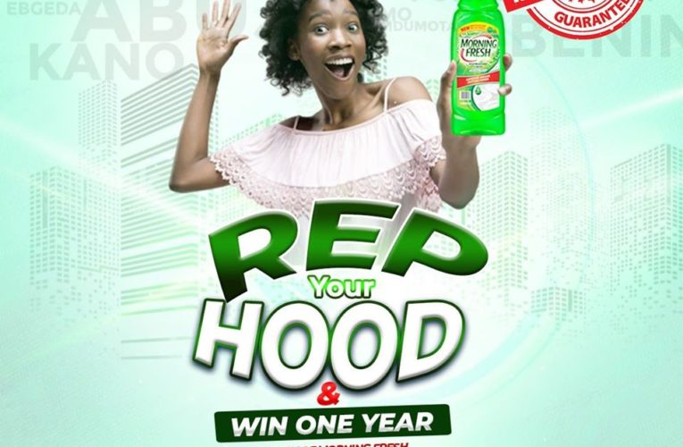 Morning Fresh X Promo,  Rep Your Hood & Win One Year Supply of Morning Fresh.