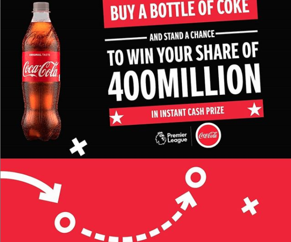 Win Your Share of N400Million in Coca Cola Promo.